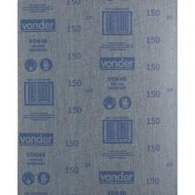 Lixa ferro LFV 0046 grão 150 VONDER - Pacote 25 Unidades