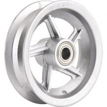 """Aro de alumínio 8"""" com rolamento para pneus 3,25 ou 3,50  VONDER"""