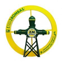 BOMBA ZM-76 MAXXI COM RODA 1,80 X 0,25(M) E SUPORTE
