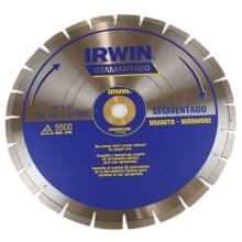 Disco Diamantado Irwin 350mm Segmentado - Granito e Marmore REF:1778738