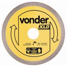 Disco de corte Diamantado Vonder XLD Porcelanato Liso 110mm