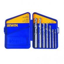 Jogo De Brocas Irwin Para Concreto - 7 Peças 03 Ao 10 Mm - Ref:IW997