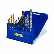 jogo de brocas irwin combinado 12 peças - Ref: 891524