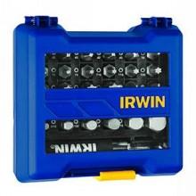 Jogo de Bits Irwin para Parafusadeira - 31Peças - Ref: 1865329