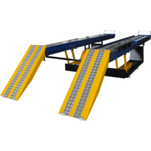 Rampa Elétrica para Alinhamento Automotivo Stahl Box STRA 4000kg