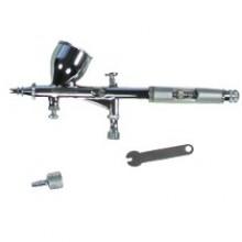 Kit  Pistola Aerógrafo com bico 0,25 mm - Titanium - Ref: 04863
