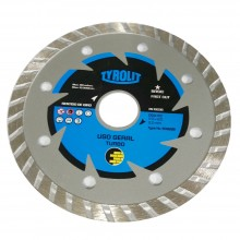 Disco Diamantado Tyrolit Turbo 110 mm - Uso Geral