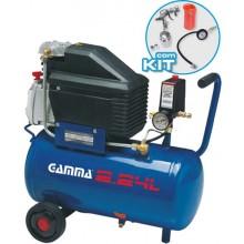 Compressor Gamma 24Lts 2HP 127V com kit