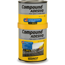 COMPOUND ADESIVO A B 1kg Vedacit