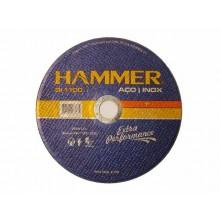 """Disco de Corte Aço Inox Hammer - 4.1/2"""""""