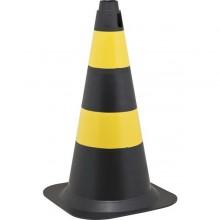 Cone de sinalização em polietileno PLASTICOR