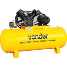 Compressor de ar Vonder  VDATG 20/200T  trifásico  220 V~/380 V~