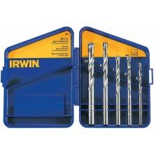 Jogo de Brocas Irwin para Concreto - 5 Peças 5 ao 10 mm - Ref: IW996