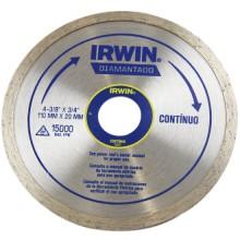 Disco Diamantado Irwin Continuo 110 mm x 20 mm - Ref: 13891