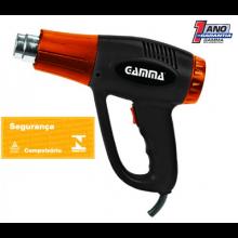 Soprador Térmico Gamma - 1500-2000w - com estojo plastico - Ref: HG025KBR