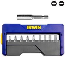 Jogo de Bits Irwin para Parafusadeira - 10 Peças - Ref: 1865320